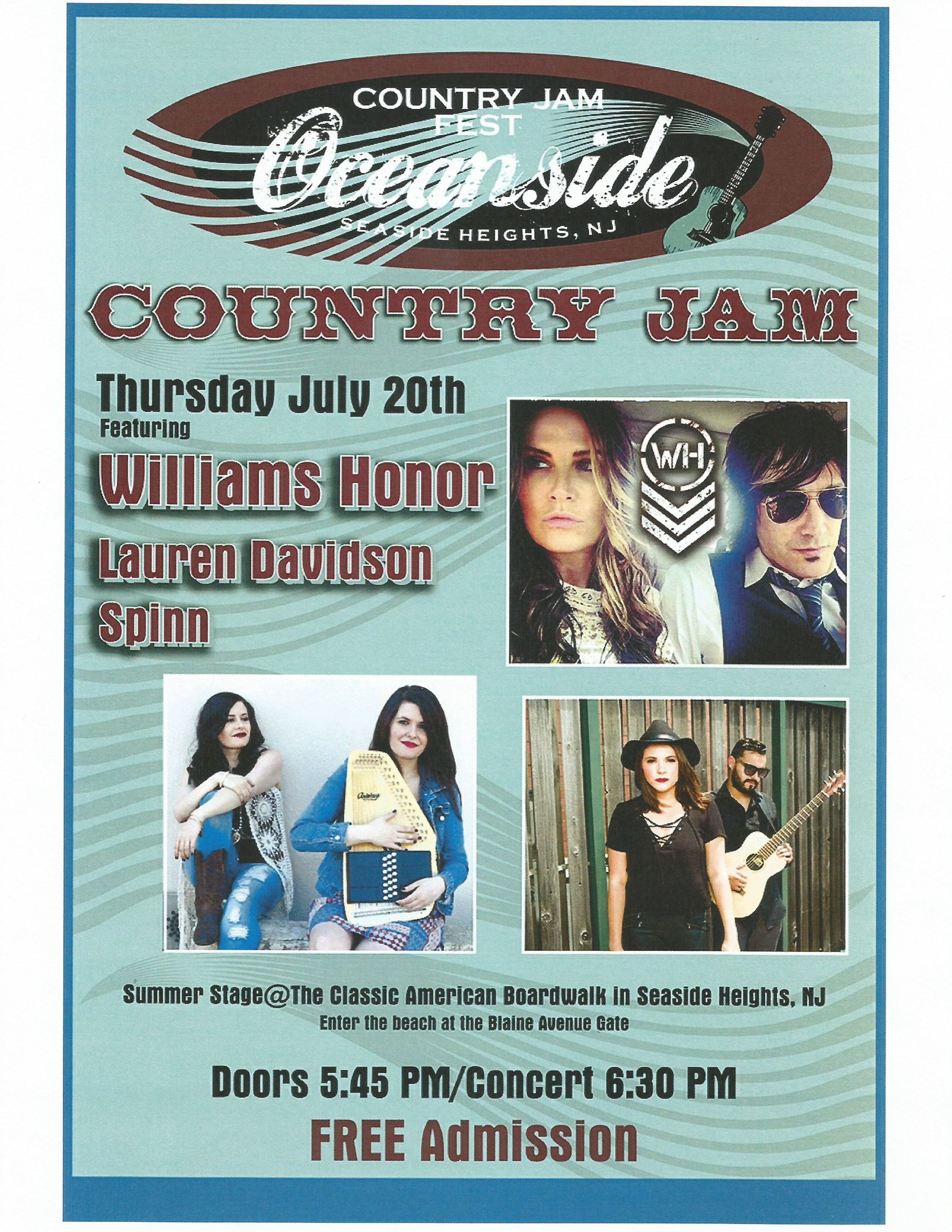 Oceanside Country Jam